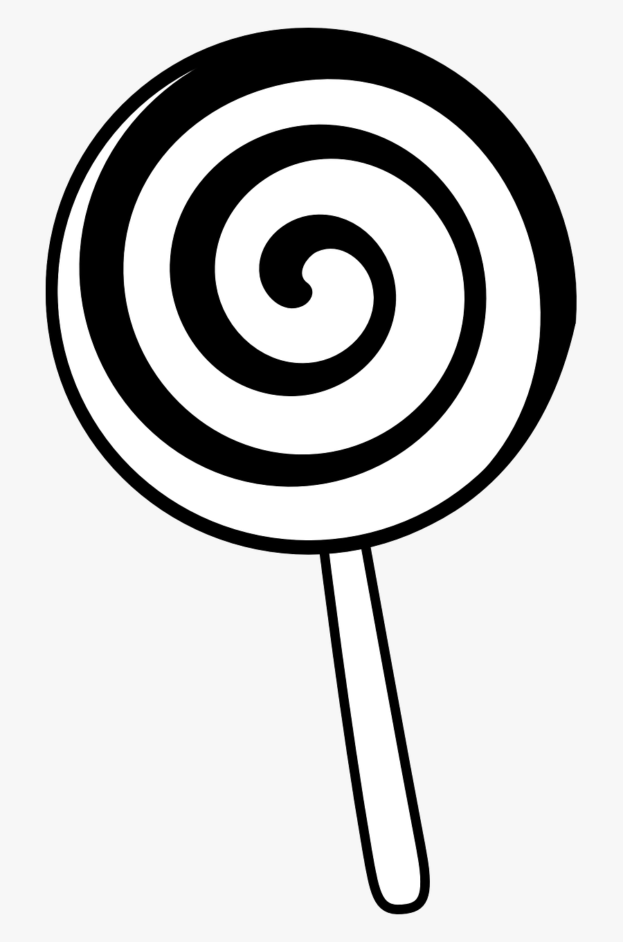 black and white clipart lollipops 10 free Cliparts