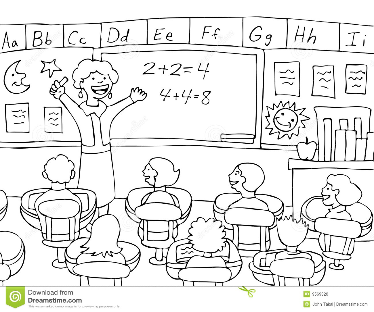 school classroom clipart black and white 20 free Cliparts