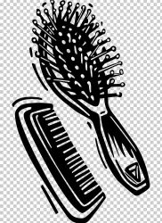 brush comb clipart clip hair hairbrush clipground cliparts graphics