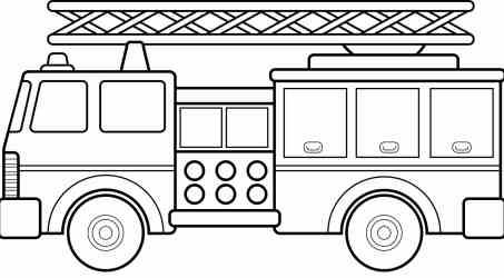 clipart fire station brigade truck clipground clipar tiff medium these