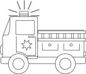 fire clipart station truck clipground clip firetruck