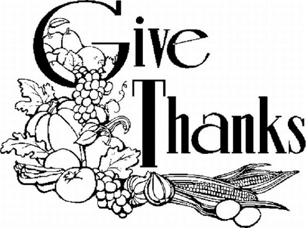 black and white happy thanksgiving clipart 20 free