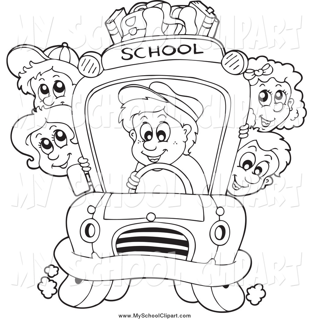 Black And White School Children Clipart 20 Free Cliparts