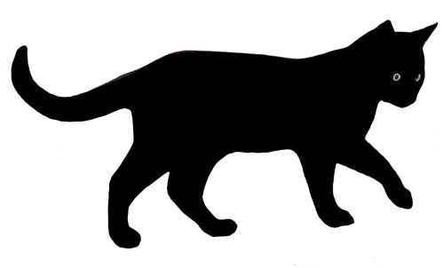 small resolution of black cat clipart