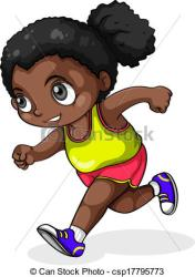 clipart running illustration clip young drawings background drawing illustrations vector graphics clipground graphic icon working piece royalty