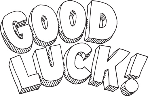 Image result for good luck clip art