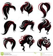 black hair stylist clipart 20 free