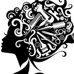 hair clipart salon stylist woman clipground