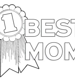 png mothers day clipart images black and white free download  [ 1650 x 1275 Pixel ]