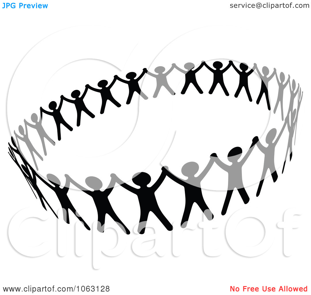 Black People Holding Hand Clipart