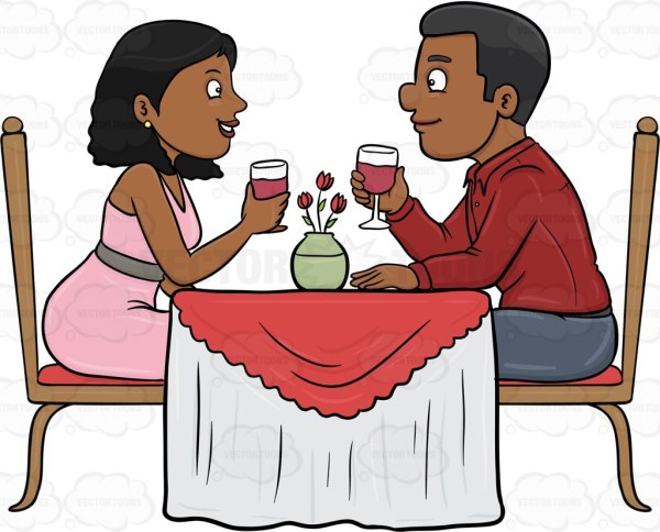black people restaurant clipart