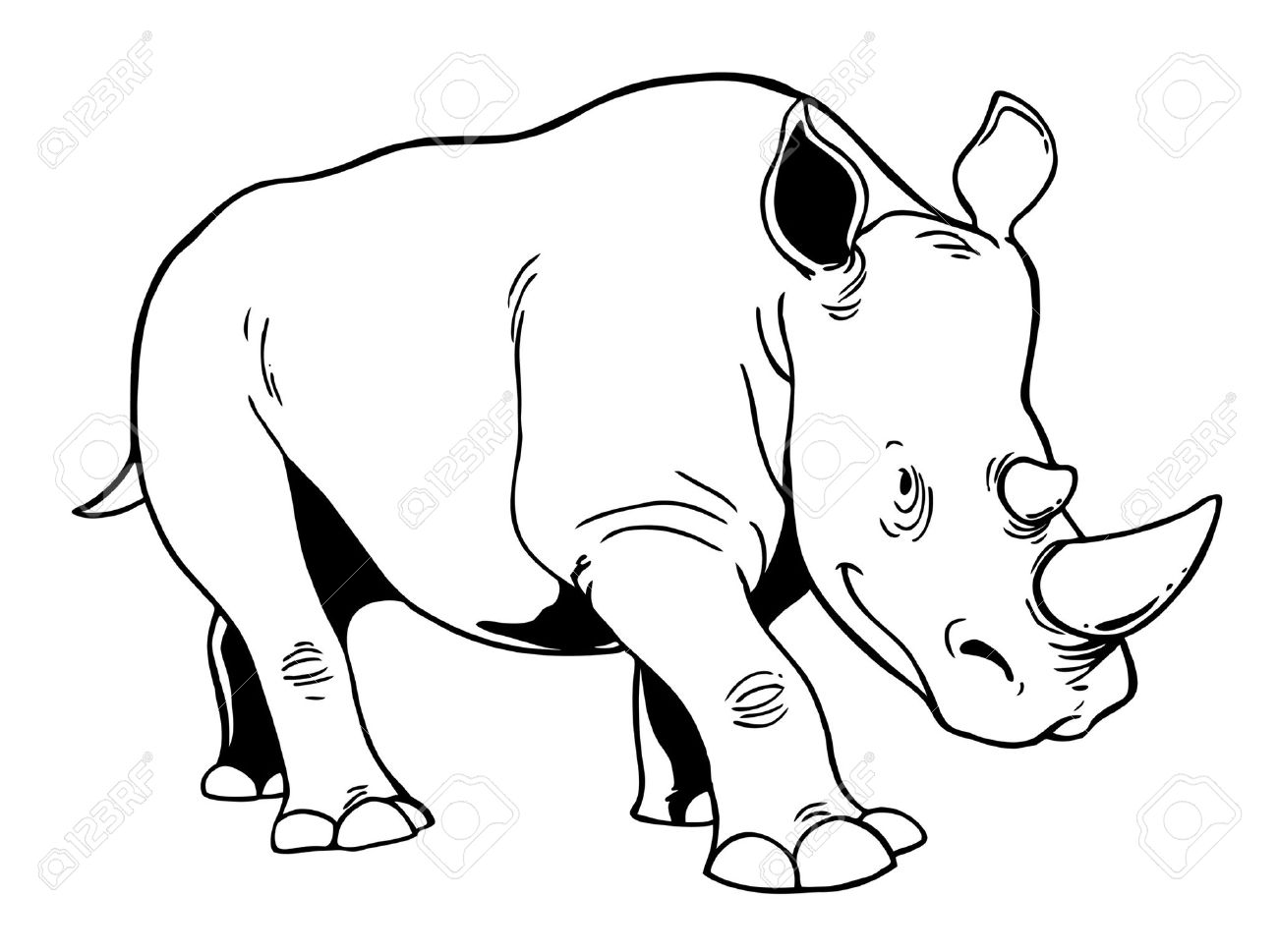 White Rhinos Clipart 20 Free Cliparts