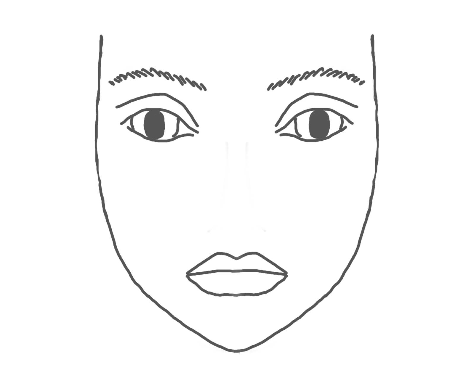 Blank Kid Eyes Clipart
