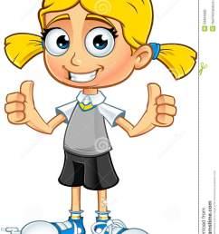 blonde school girl character [ 957 x 1300 Pixel ]