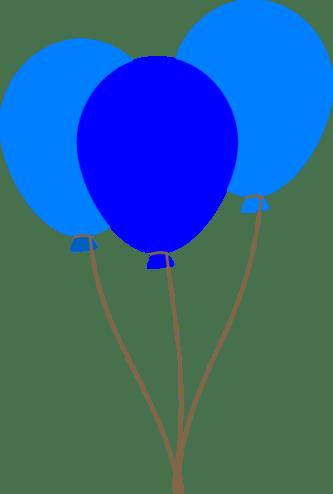 blue balloon clipart 20 free