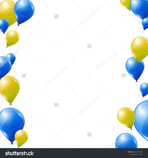 blue yellow clipart - clipground
