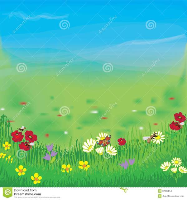 meadow flowers clipart 20 free