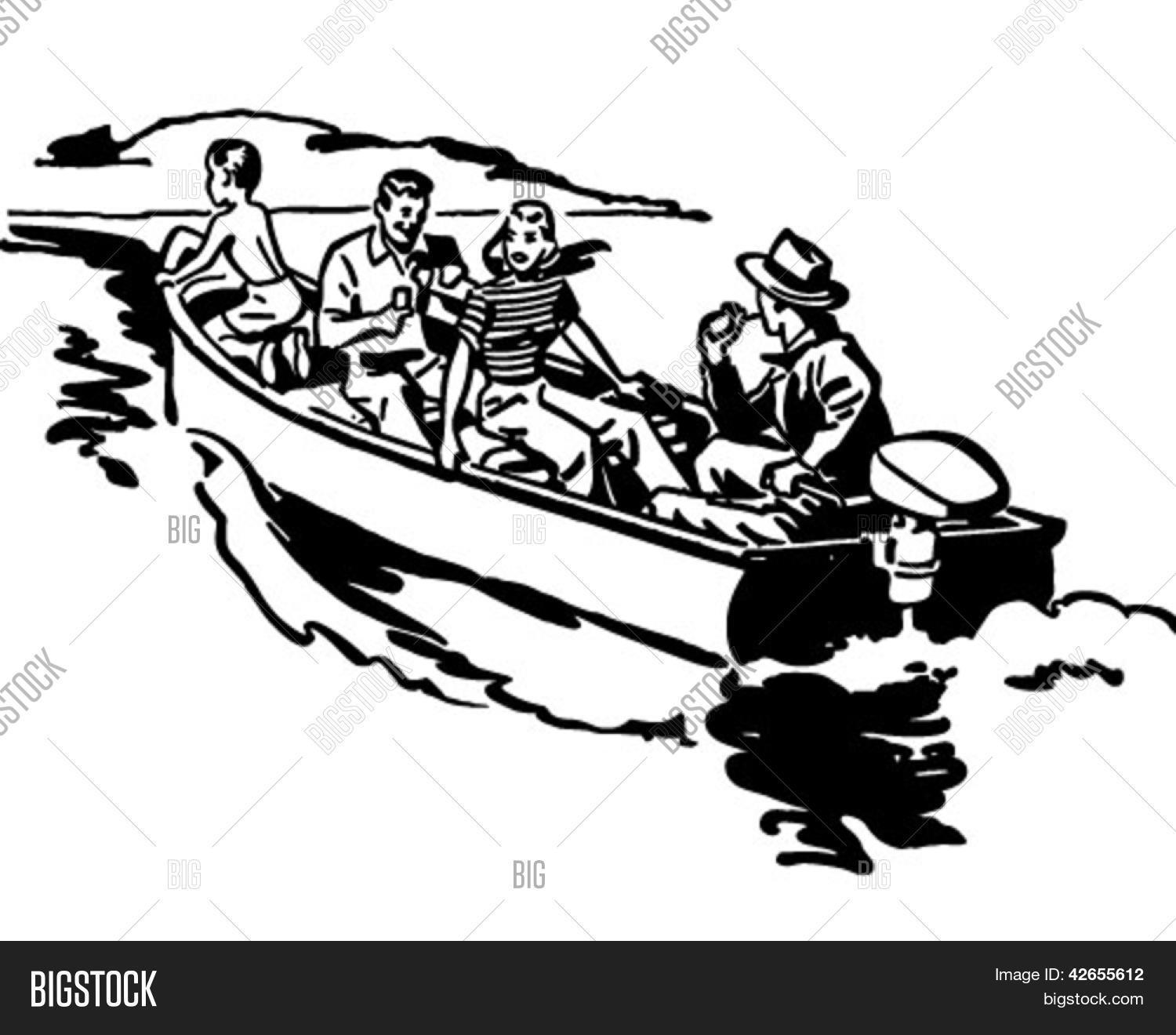 Boat Trip Clipart