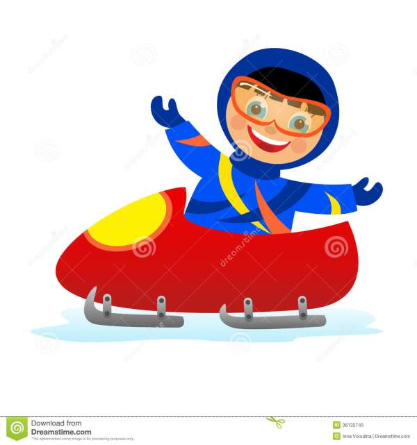 Bobsled Clipart - Clipground
