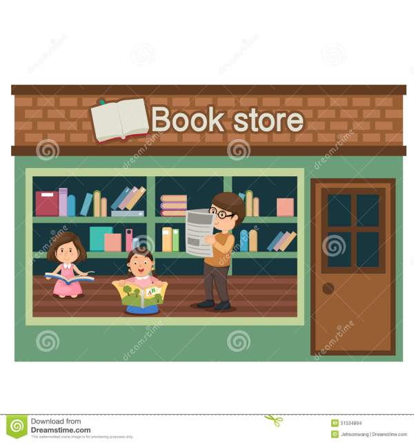 Book Store Clipart - Clipground