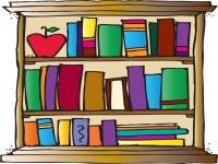 Bookshelves For Kids Clipart