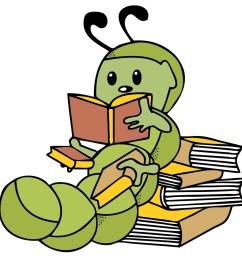 bookworm clipart free bookworm clip art clipart [ 2000 x 2000 Pixel ]