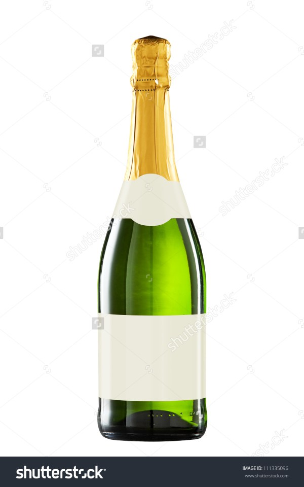 Bottle Of Sparkling Wine Clipart - Clipground