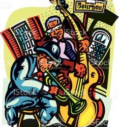 bourbon street clip art vector images illustrations  [ 807 x 1024 Pixel ]