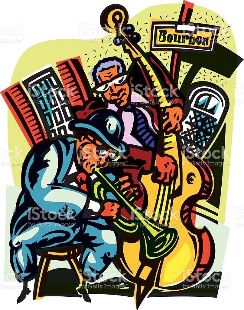 hight resolution of bourbon street clip art vector images illustrations