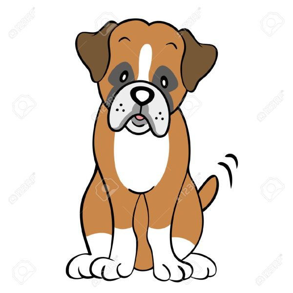 Boxer Dog Clipart - Clipground