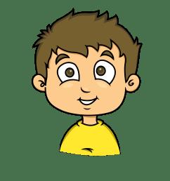 free boy clipart clip art of boy clipart 1732 clipartwork smile boy clipart [ 2400 x 2400 Pixel ]