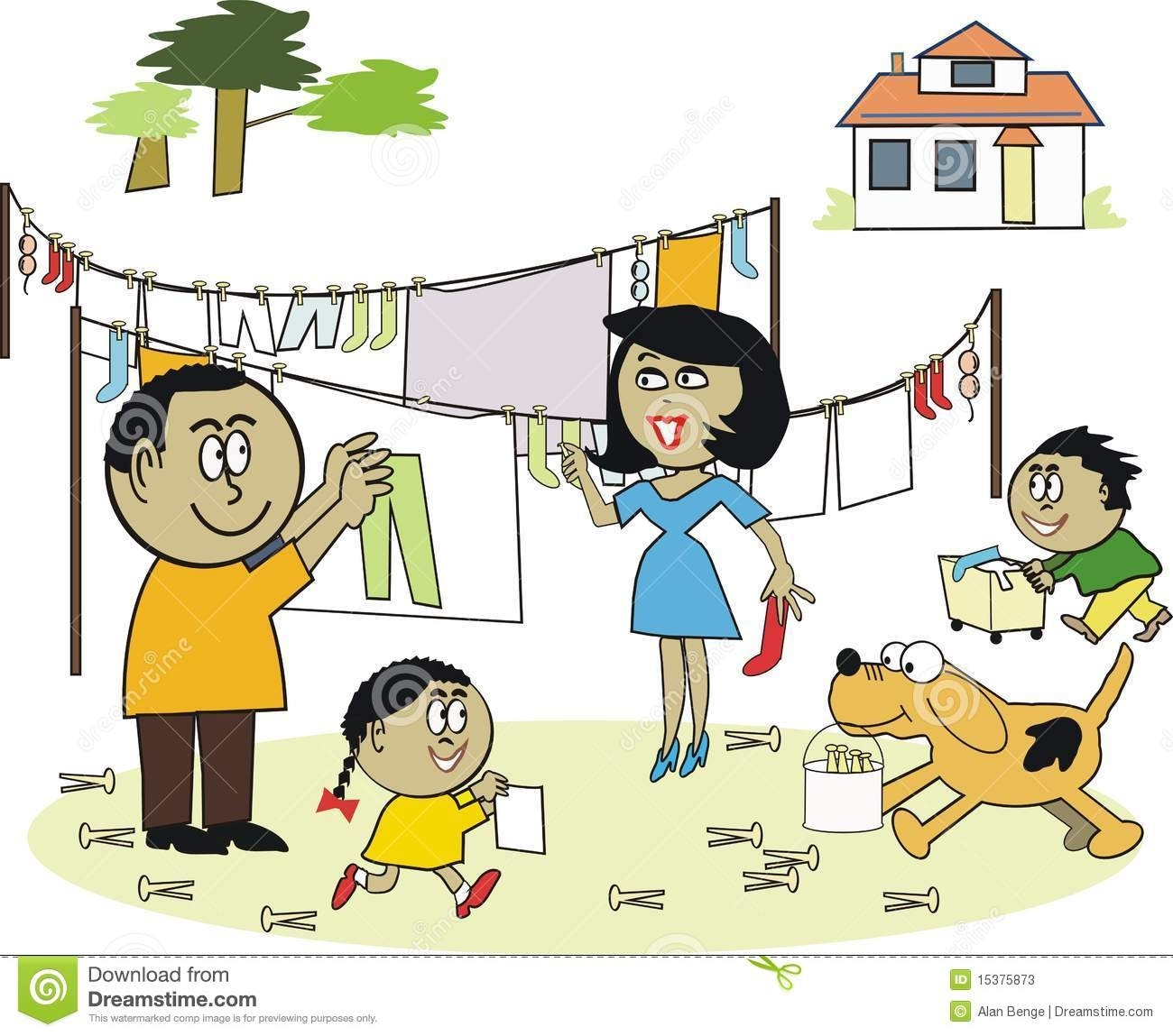 hight resolution of clipart of household chores