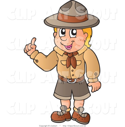small resolution of boy scout clipart