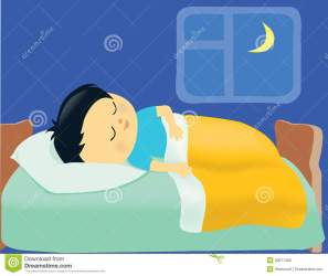 sleeping bed clipart boy clipground cliparts