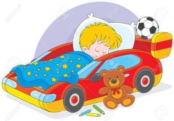 boy bed sleeping clipart sleeps sport clipground vector help bedroom