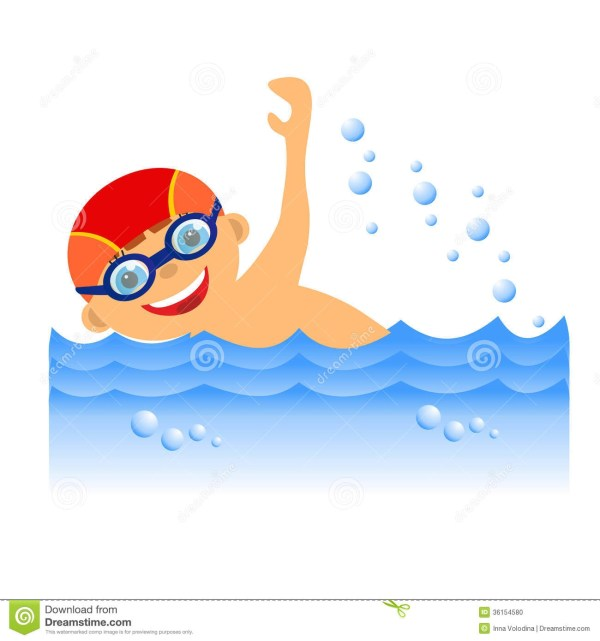 Boy Swimmer Clipart - Clipground