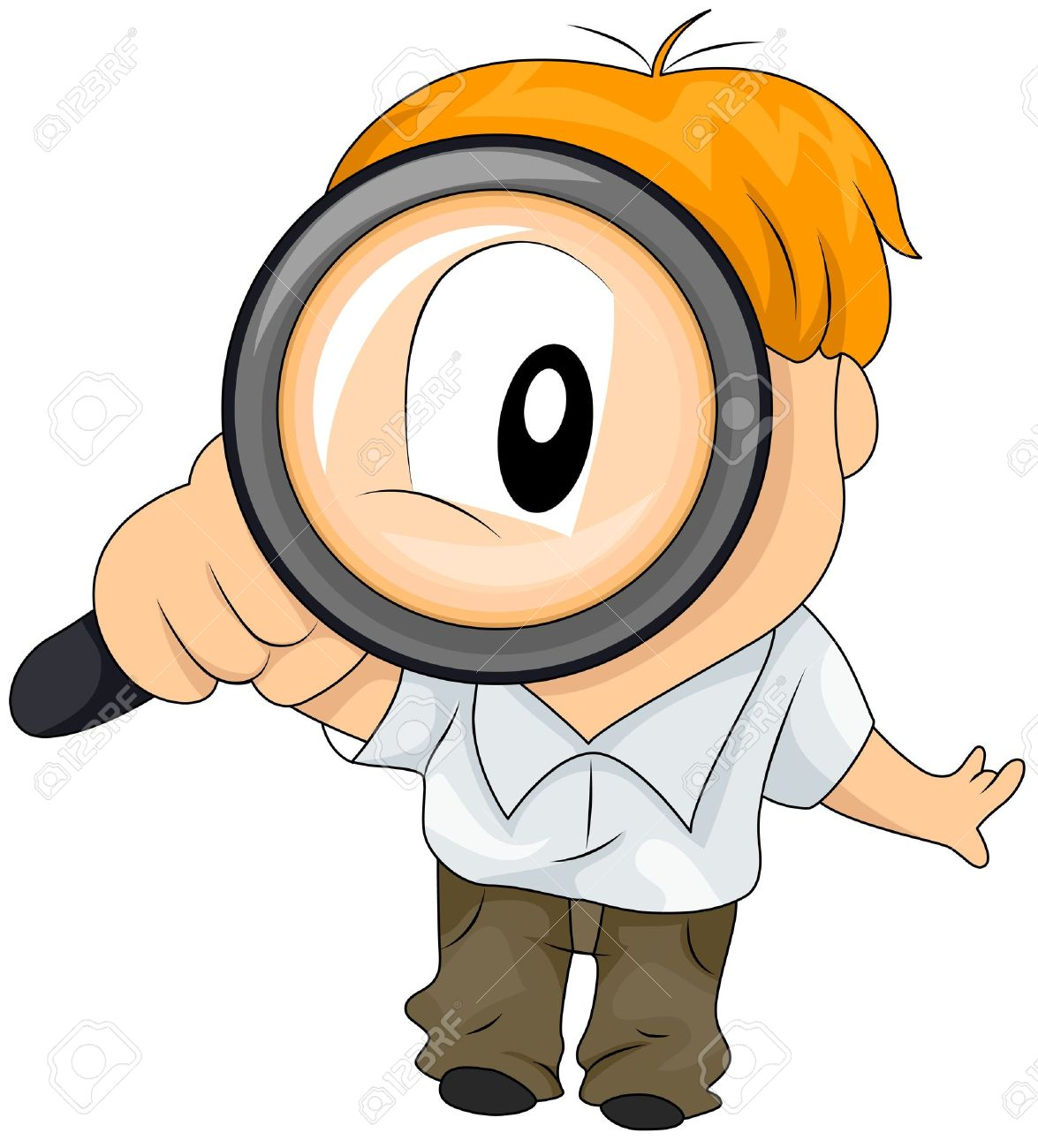hight resolution of boy using magnifying glass stock photo picture and royalty free