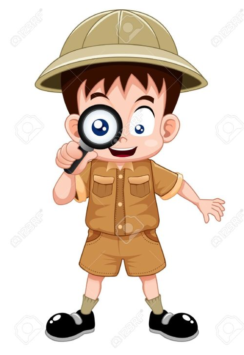 small resolution of boy scout clipart vector free