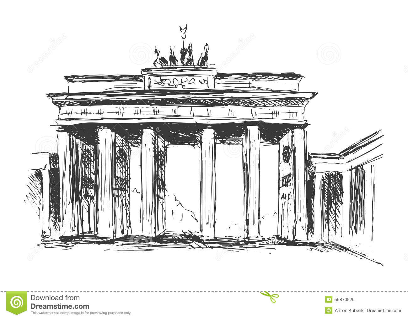 Brandenburger Tor Clipart