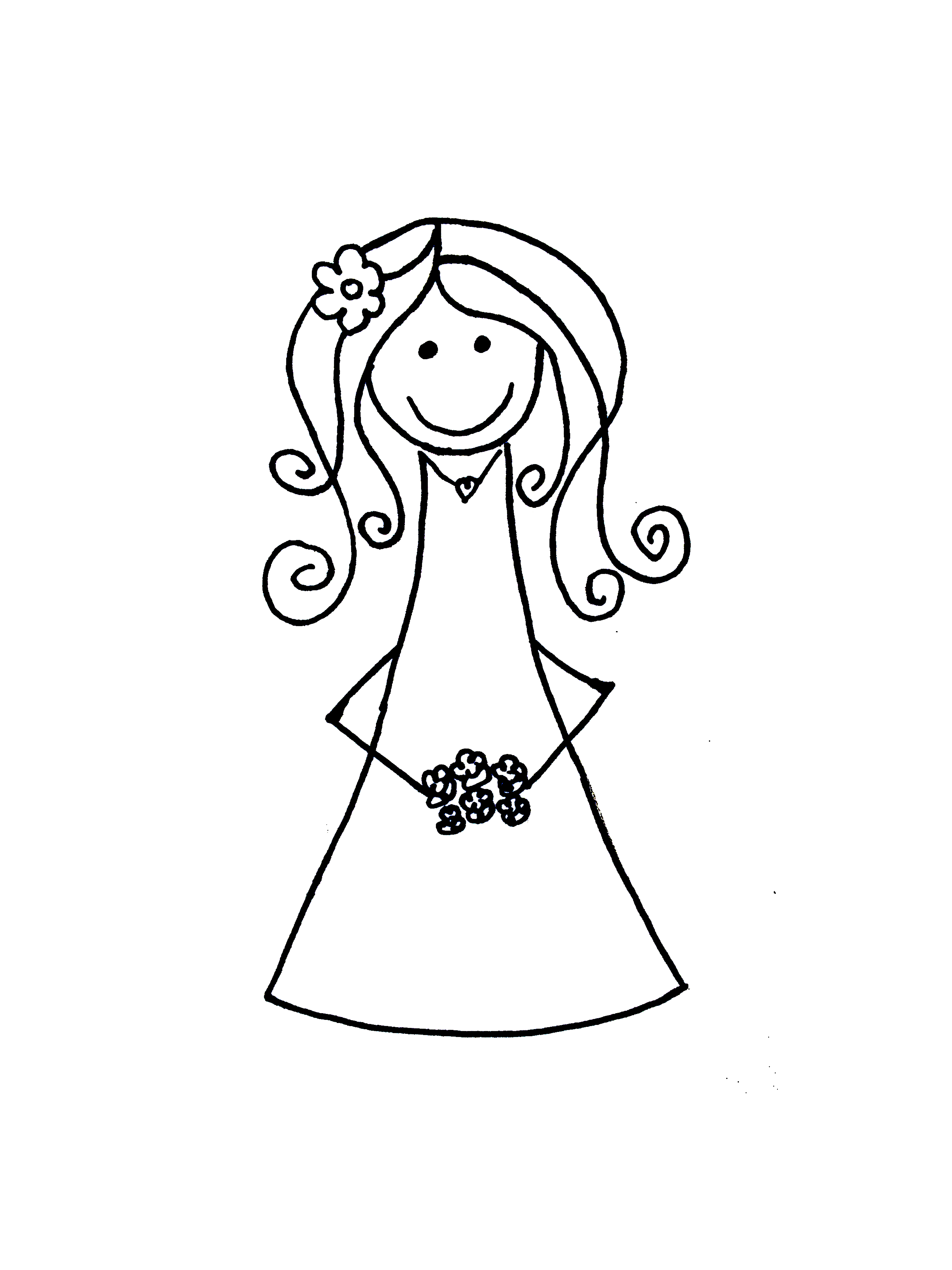Bride Duck Clipart