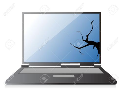 small resolution of 1 386 broken laptop stock illustrations cliparts and royalty free