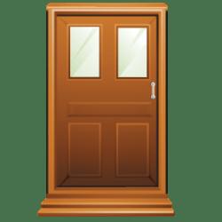 door brown clipart cartoon doors clipground ico icns iconseeker icon