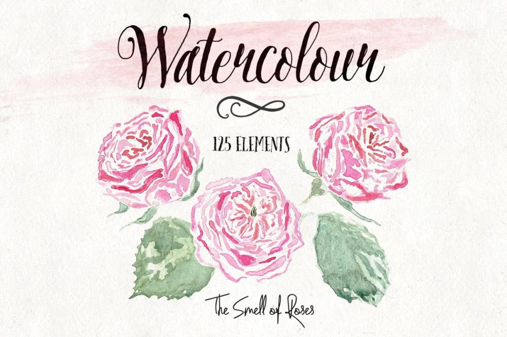 medium resolution of watercolor flower clipart free