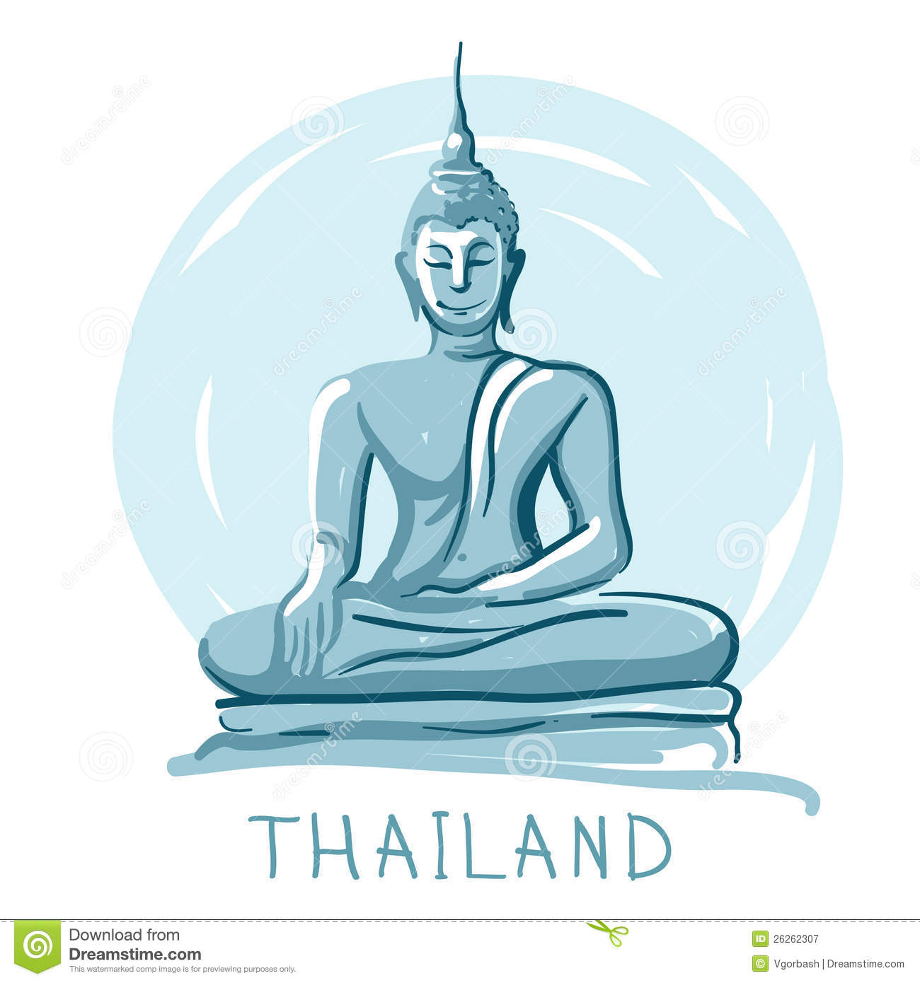 Buddha statue clipart  Clipground