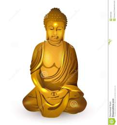 gold buddha vector royalty free stock photo  [ 1188 x 1300 Pixel ]