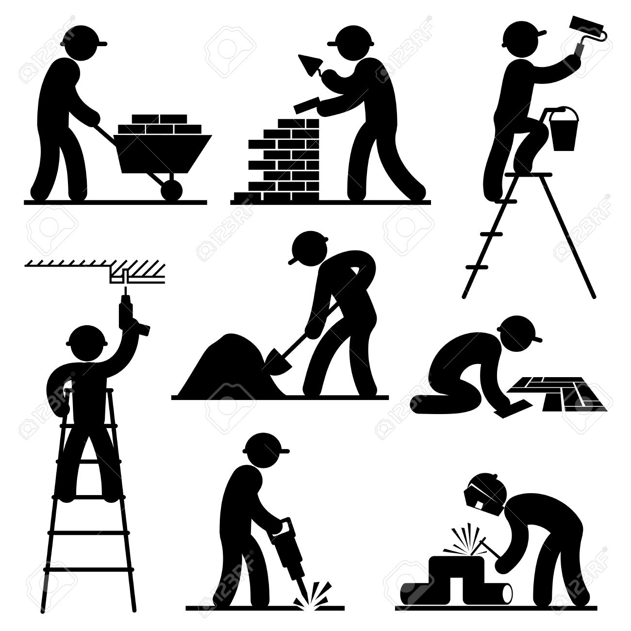 Builders Clipart Free 20 Free Cliparts