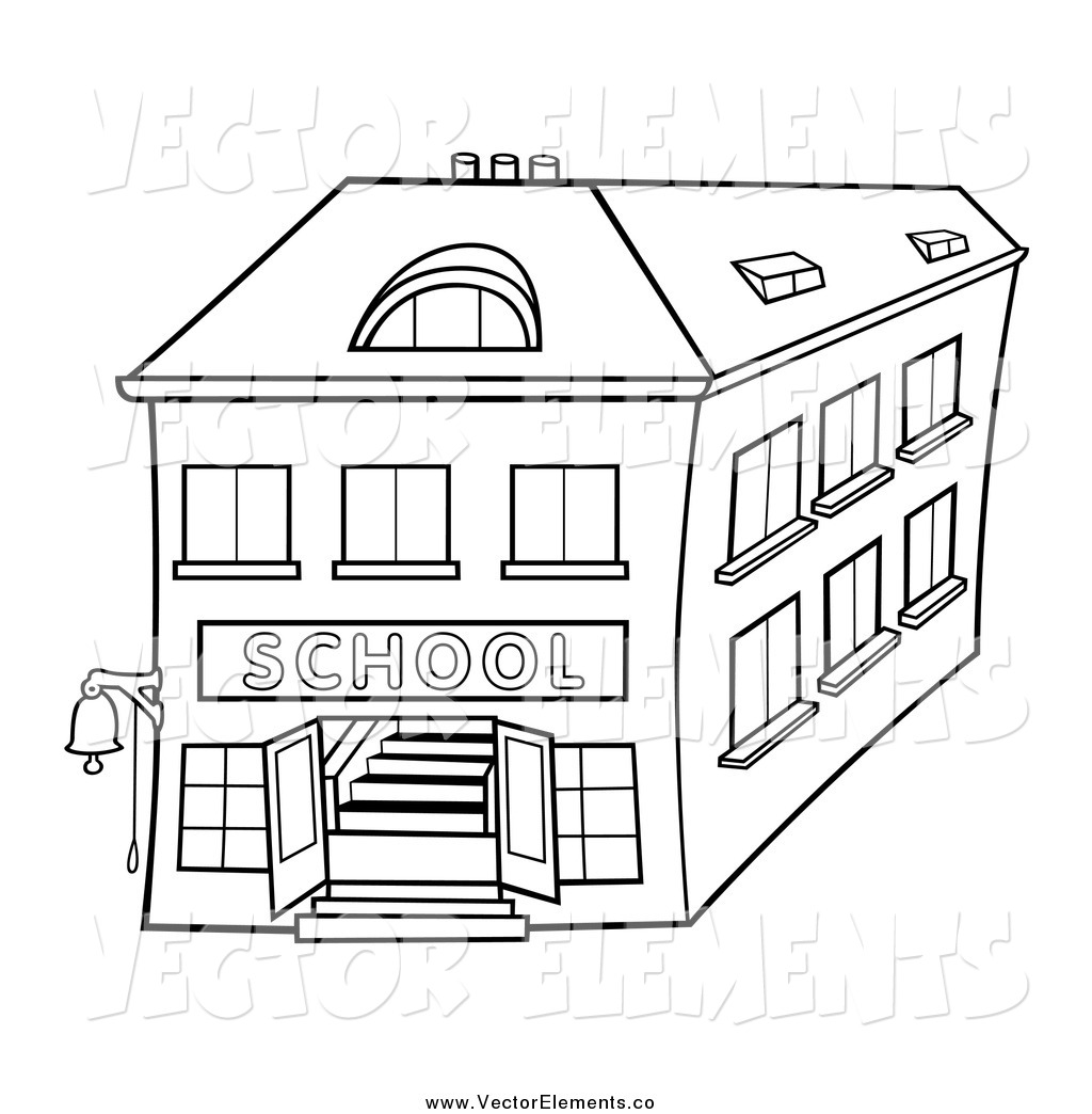 Post Office Building Coloring Coloring Pages