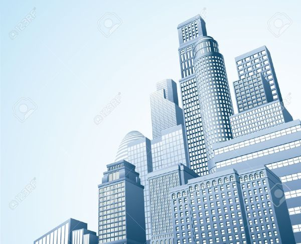 Buildings Skyscrapers Urban Clipart - Clipground