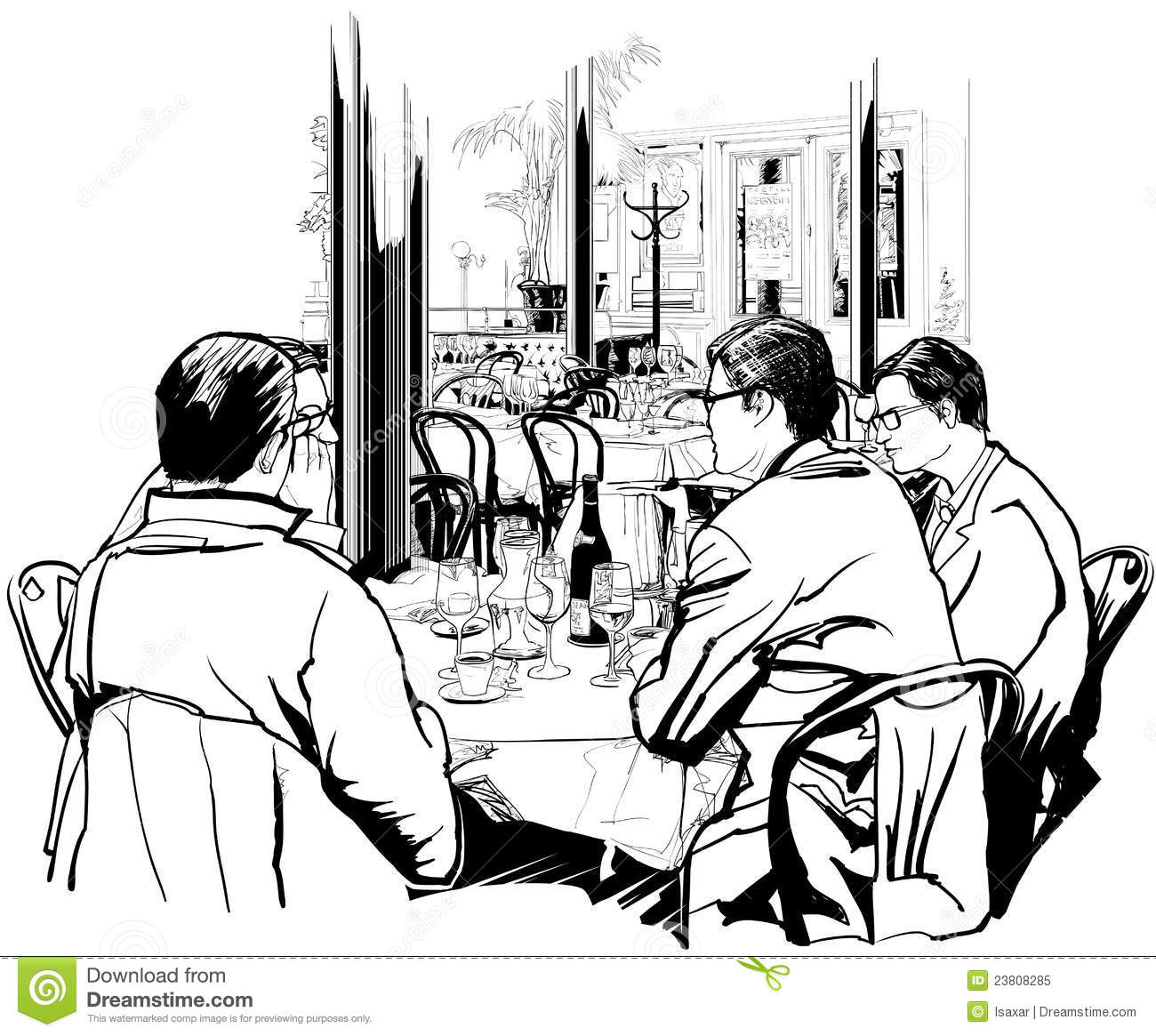 Lunch Meeting Clipart
