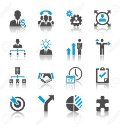 business sales multi task icon free clipart  [ 1300 x 1300 Pixel ]